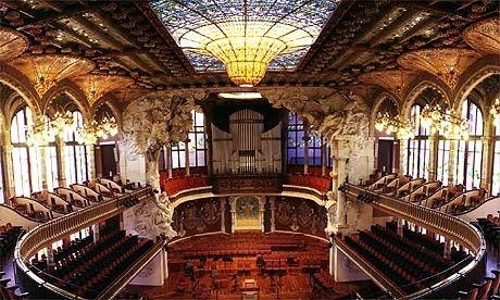 Fotos del Palau de la M�sica: Palaumusica1